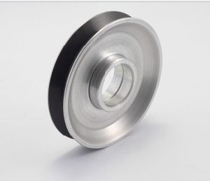 Ceramic Coating Aluminum Idler Pulley D40*H11 for Enamelling Machine pictures & photos