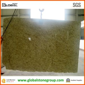 Natural Brazil Giallo Ornamental Granite for Slab, Tiles and Tops