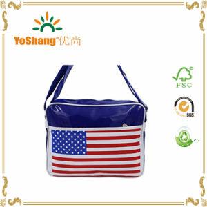 Hot Sale Shiny PVC Postman School Carry Bag PVC Shoulder Bag Messenger Bag pictures & photos
