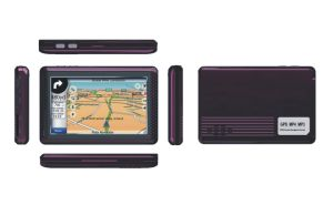 4.3 Inch Best-Seller Car GPS 500MHz CPU, FM, Bluetooth