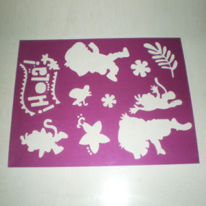 PP Stencils or PVC Stencils Customized Shaped Drawing Christmas Stencils pictures & photos