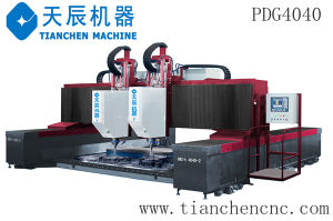 CNC High-Speed Plate Drilling Gantry Type Double-Spindle Machine PDG4040/PDG5050 pictures & photos