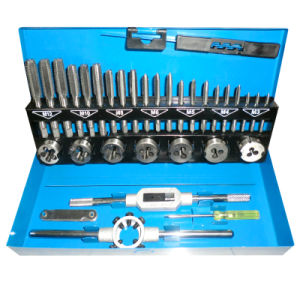 30PCS Metric (DIN) Tap and Die Set, Alloy Steel