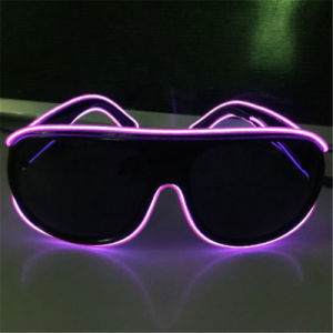 Sound Activated EL Wire Glow Shades pictures & photos
