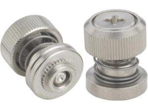 Spring Loaded Panel Fastener Assemblies with Low Profile Knob pictures & photos