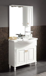 Classic Style/Solid Wooden Bathroom Cabinet/Vanity (KA941) with Lamp