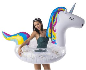 Unicorn Pool Float Party Tube Inflatable Rafts