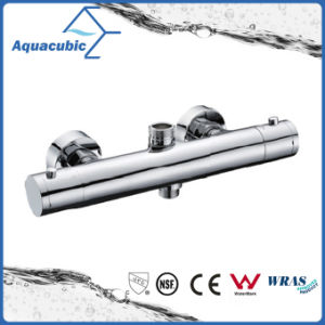 Bathroom Thermostatic Chrome Round Exposed Bar Mixer Shower Valve (AF4320-7) pictures & photos