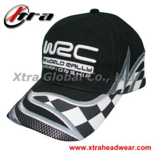 Geometry Embroidery Car Cap Cool Black Headwears pictures & photos