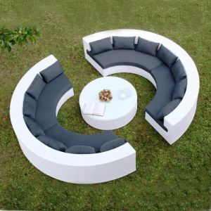 Outdoor Leisure Garden Sofa Outdoor Rattan Garden Sofa S204 pictures & photos