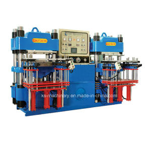 Automatic Rubber Molding Machine for Rubber Silicone Products (KS200H3) pictures & photos
