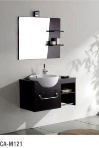 Modern Solid Wood Bathroom Cabinet Series pictures & photos