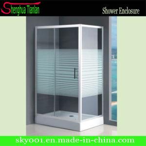 PVC Prefab Prefabricated Modular Glass Shower Bathroom (TL-506) pictures & photos