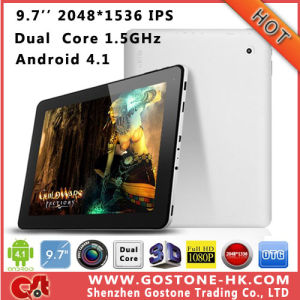 Cube U9gt V U9GT5 Dual Core Android 4.1 Tablet PC 9.7′′ IPS High Resolution 2048*1536 Rockchip Rk3066 1.6GHz 1g 16g / 32g Bluetooth