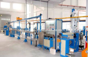 Teflon Cable Production Line Cable Extrusion Machine pictures & photos