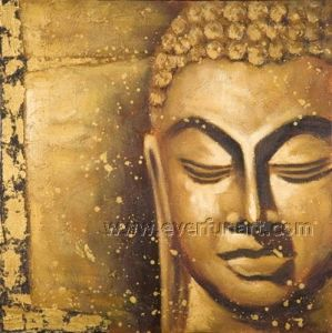 Wall Art Decorative Buddhism Artwork Oil Painting (BU-027) pictures & photos