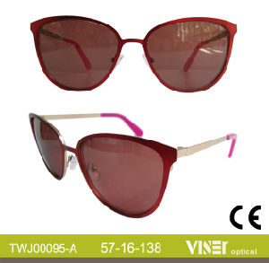 Fashion Metal Sunglasses Handmade Sunglasses (95-B) pictures & photos
