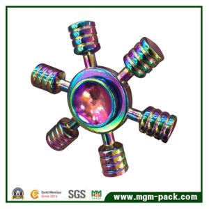 Rainbow Color Pure Copper Fidget Spinner pictures & photos
