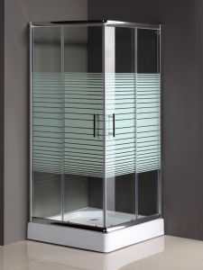 Bathroom Shower Doors with Shower Base (SD-022) pictures & photos