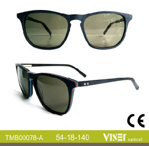 Fashionable Handmade Acetate Sunglasses Eyewear (78-C) pictures & photos