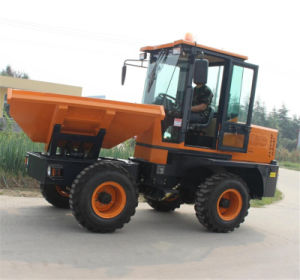Garbage Transfer Truck 3.0ton Hydraulic Mini Site Dumper pictures & photos