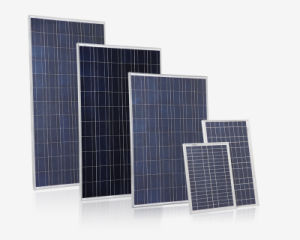 Poly 5W-300W Solar Panel with High Quality in Stock