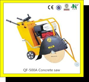 "Hand Held Concrete Cutting Saw (QF-500/20"") pictures & photos"