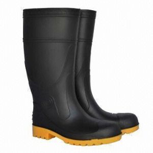 Industrial PVC Safety Boots Impact Resistance Ce Certification pictures & photos