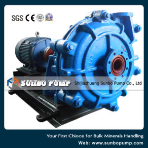 Heavy Duty High Head Abrasion & Corrosion Resistant Slurry Pump pictures & photos