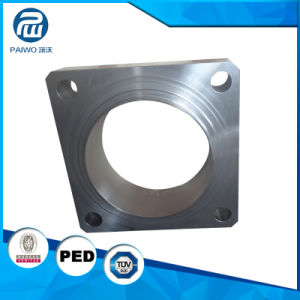 CNC Machining High Precision Forged Stainless Steel Awwa Square Flange pictures & photos