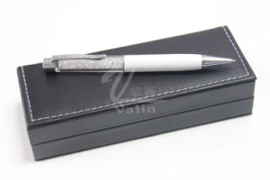 White Metal Gift Item Crystal Pen with Gift Box pictures & photos