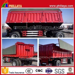Drawbar Trailer Tipper Truck, Mining Dump Truck pictures & photos