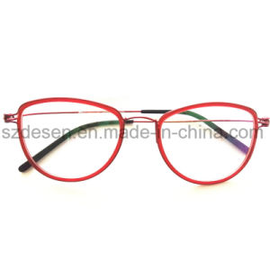 New Design Fashion Trendy Super Light Steel Wire Optical Frame pictures & photos