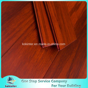 First Grade Indoor Usage Strand Woven Bamboo Flooring in Red Walnut Color and Cheap Price pictures & photos