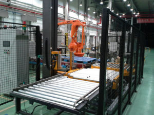 Tp2000fz Automatic Pallet Stretch Wrapping Machine pictures & photos