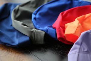 Elastic Polyester Swimming Bathing Swim Cap Hat pictures & photos