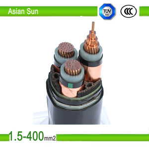 Aerial XLPE Insulated Copper Core Cable/Power Cable pictures & photos