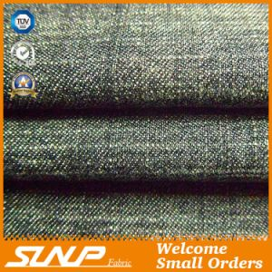 Cotton and Polyester Slub Denim Fabric for Apparel