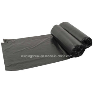 Wholesale HDPE Black Rubbish Bag pictures & photos