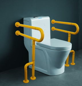 Toilet Seat Handrail Stainless Steel Keeping Balance Accessories Handrail Fittings White/Yellow pictures & photos