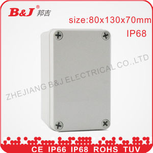 ABS Junction Box IP68, Waterproof 80X130X70mm, ABS Enclosure pictures & photos