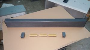 High Precision Silicon Carbide Straight Edges pictures & photos