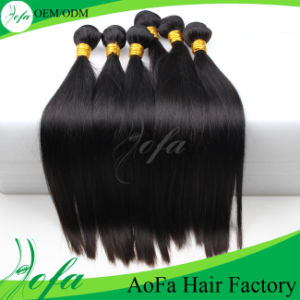 Top Grade Silky Straight Superior Quality 100% Human Hair Remy Hair pictures & photos