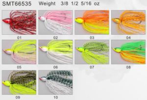 Bass Fishing PRO Top Grade Designed and Painted Spinner Bait 66534 Fishing Lure pictures & photos