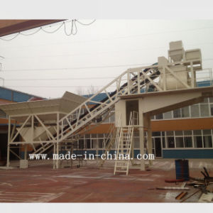 50m3/H Unique Technology Automatic Mobile Concrete Mixing Plant