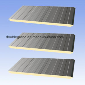PU Sandwich Panel for Steel Structure Warehouse/Workshop Buildings pictures & photos