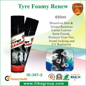 Hot Sale Tire Foamy Cleaner 650ml pictures & photos