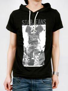 Custom_Cotton Fashion Design Slim Hood Tank Top T Shirt