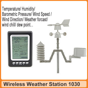 Automatic RF 433MHz Home Weather Station with Temperature Trend Clock pictures & photos