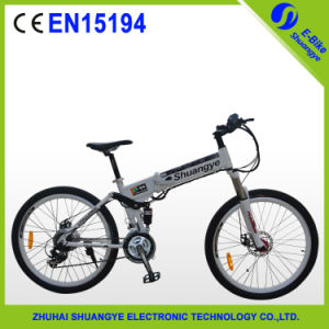 "36V 9ah Lithium Battery 26"" Folding Electric Mountain Bike pictures & photos"